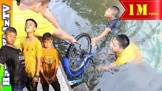 งมจักรยาน ดันได้กุ้ง พี่แชมป์น้องปาน Happykidztv