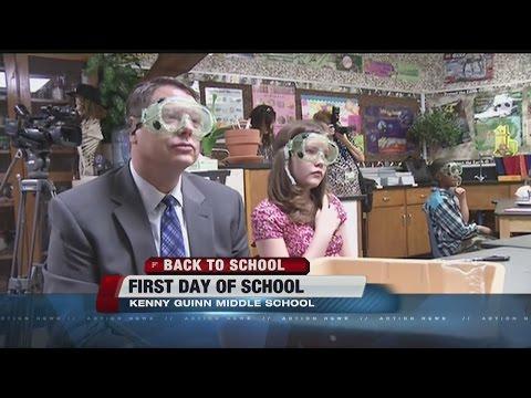 School starts all around Clark County School District