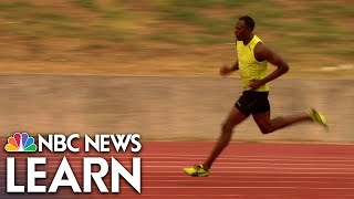 NBC News Learn: Biomechanics of Usain Bolt thumbnail