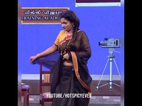 Latest Serial Actress Nenjam Marapathillai fame Sharanya Navel HD 1080p Slow motion Edit thumbnail