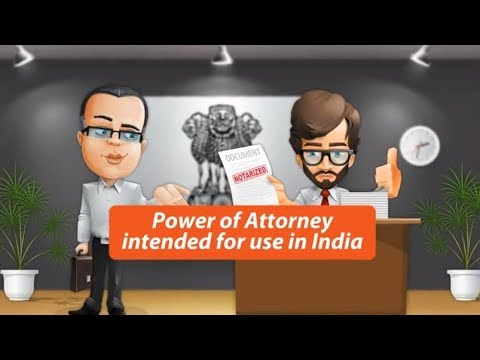 Preparing Power of Attorney for India with a Notary Public