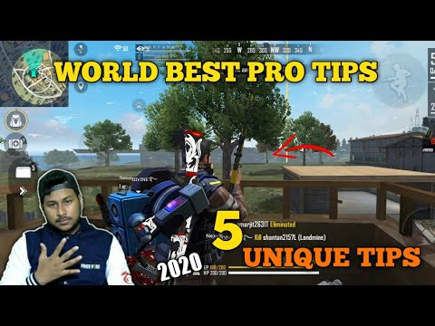 WORLD BEST PRO TIPS AND TRICKS FREE FIRE | 5 UNIQUE PRO TIPS-Garena Free Fire