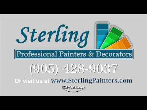 Painters in Ajax Oshawa Whitby Pickering   Sterling Painters