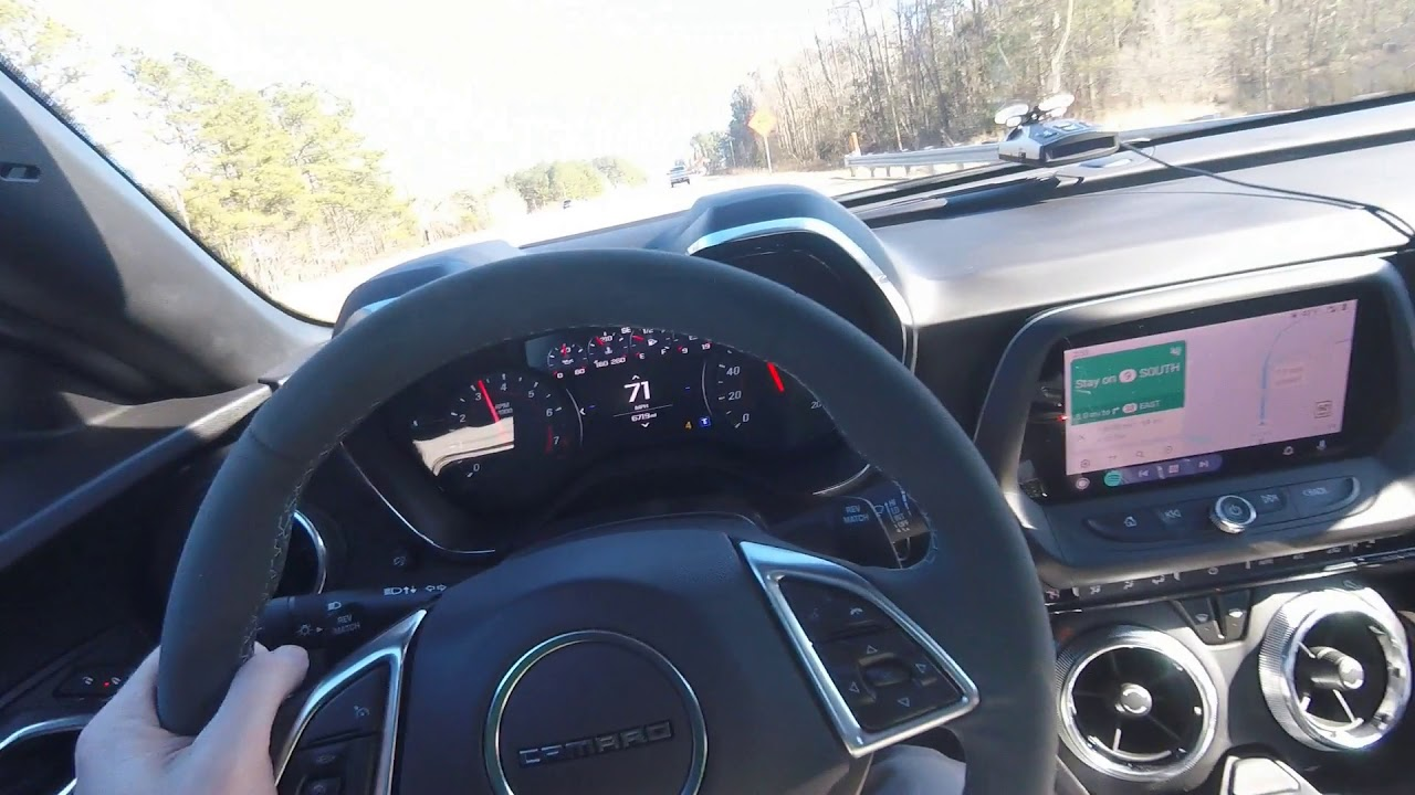 Camaro SS 1LE 40-130 pull and Highway Gas Mileage