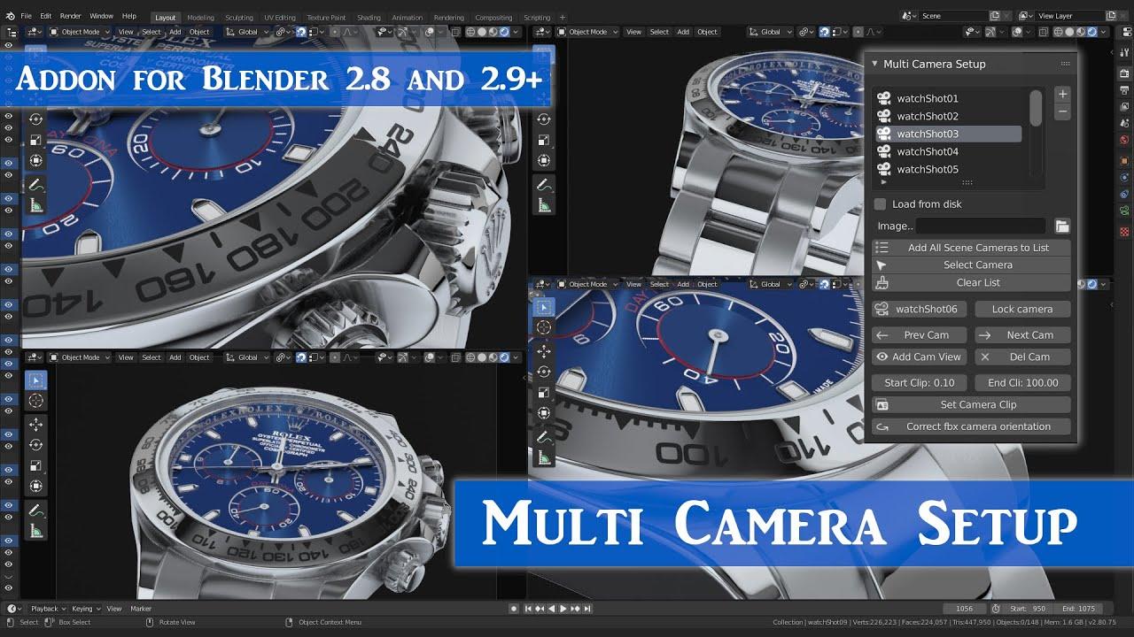 Multi Camera Setup Addon