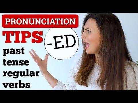 3 Simple Pronunciation Tips 😎 Past Tense English Verbs