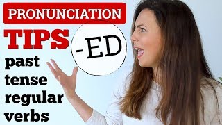 3 Simple Pronunciation Tips 😎 Past Tense English Verbs