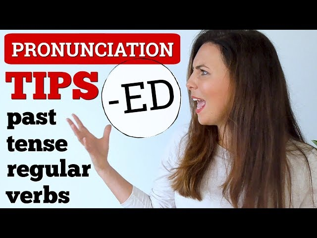 3 Simple Pronunciation Tips  Past Tense English Verbs