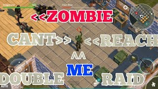 Zombies CANT reach me in this raid - Double Raid - Open bunker and floppy LDoE 1.9