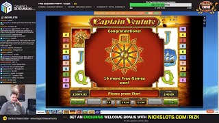 £3400 vs SLOTS! -!feature to win £££ (13 SPINS WITH A WILDLINE YESTERDAY)