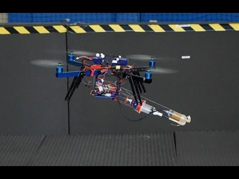 Take off for world's first 3D printing, flying robot