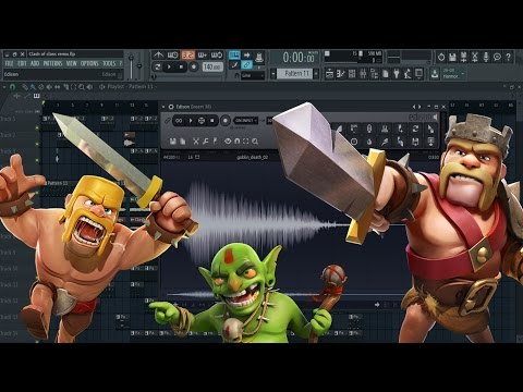 When you Remix Clash of Clans (IJ Beats Music)