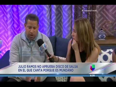 Evang. Julio Ramos (Ex Julio Voltio) Música Secular no se Puede Mezclar con Música de Dios!!