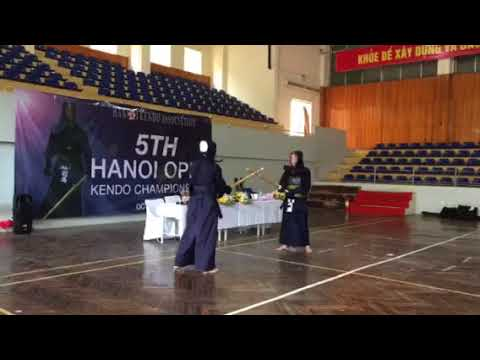 5Th Hanoi Open Kendo Championships - October 2017 - warming up 5