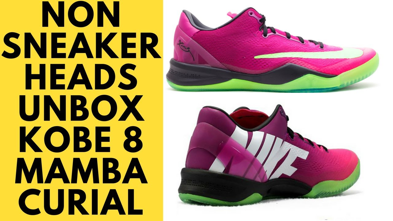 043d50e2934 Nike Kobe 8 Mambacurial Unboxing and Review by non Sneakerheads ...