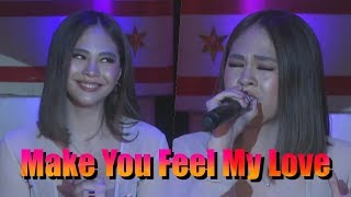 Janella Salvador sings