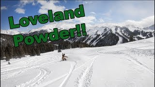 Snowboarding Powder At Loveland Ski Resort Colorado - (Season 3, Day 85)