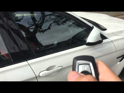 F80 F82 F83 Coding windows up/down folding mirrors with key & comfort access