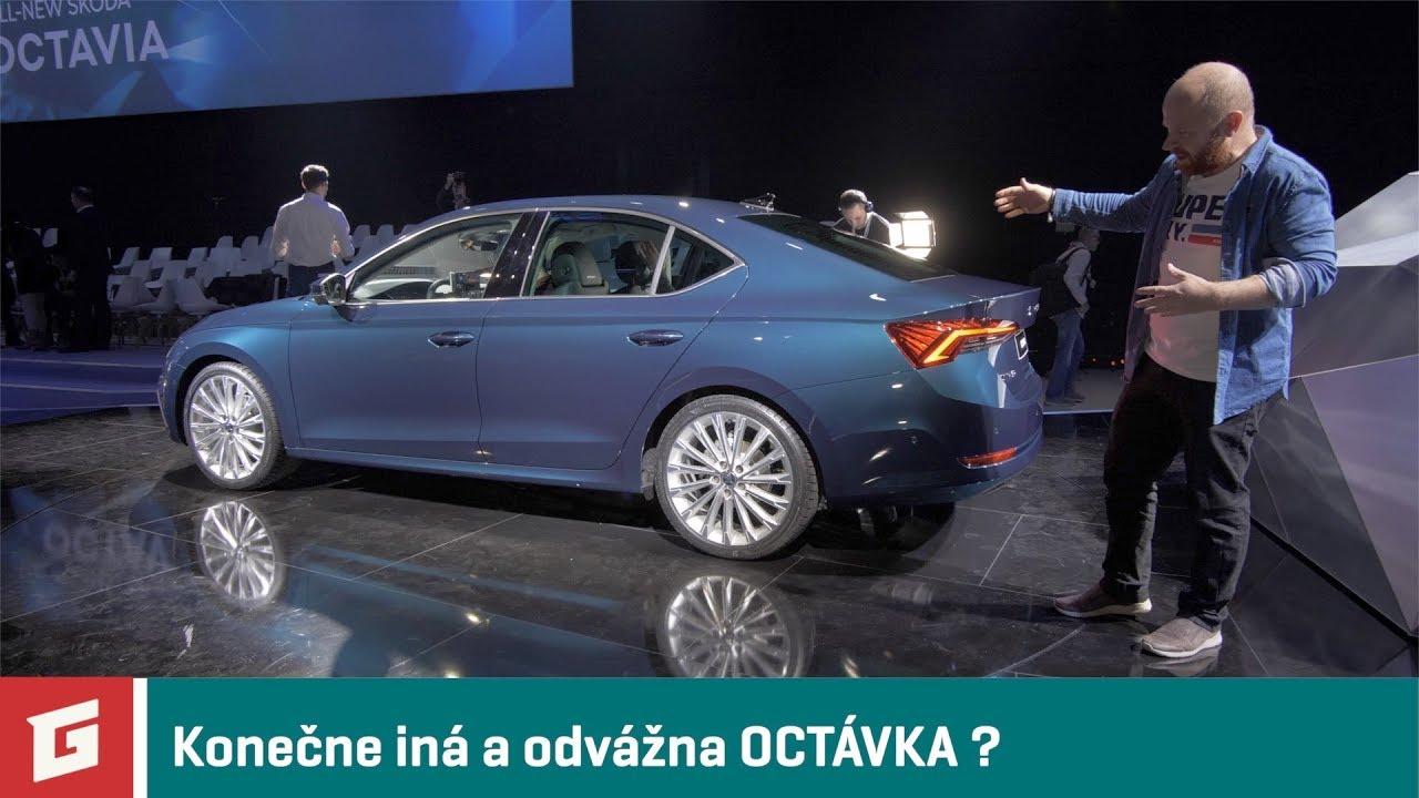 ŠKODA OCTAVIA 4 - 2020 - prvé dojmy - GARAZ.TV - Rasťo Chvála - YouTube