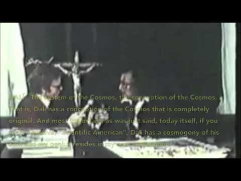 COSMOGONY (1971 Interview) ~ Salvador Dalí (1904-1989) ~ English subtitles