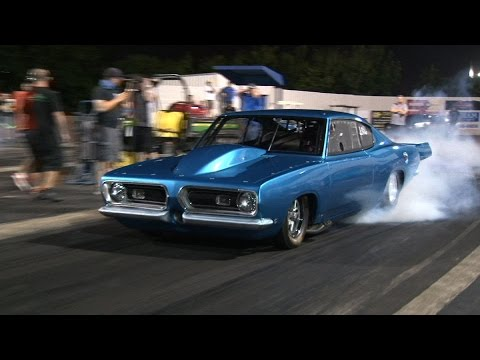 WICKED 3000+hp Hemi CUDA on Radials