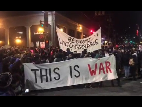 Punching Nazis at the UC Berkeley Riots