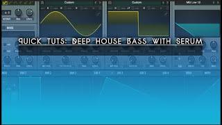 progressive house bass serum