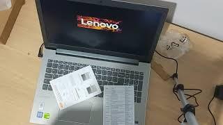 UNBOXING LENOVO IDEAPAD 520 I7 8550U
