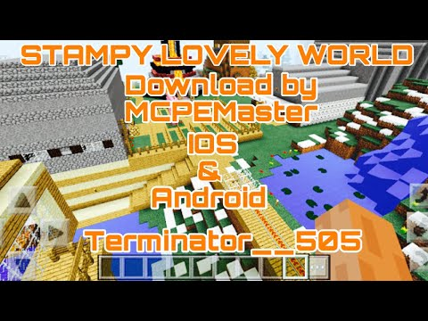 Stampy World Map.Minecraft Pe Stampy Lovely World Map Download Youtube