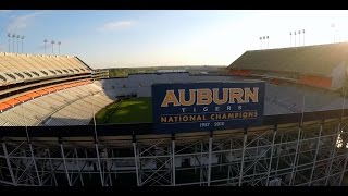 Aerial of Auburn University: Through The Eyes of The War Eagle
