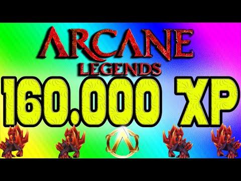 160k XP In 5  Minutes! FASTEST LEVEL UP! TRICK - Arcane Legends - Glitch - Hack - Cheat