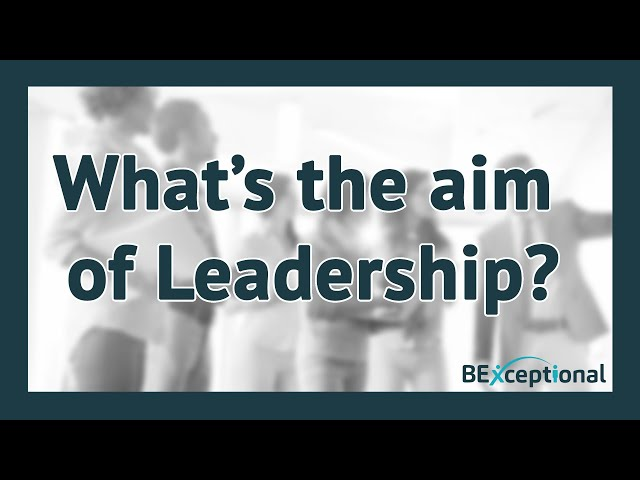 What's the Aim of Leadership - The Integration of High Performance and High Well-Being