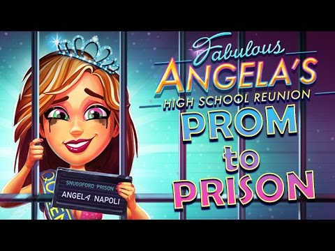 Fabulous Angela's HIGH SCHOOL REUNION - Prom to Prison! #1 (Let's Play/Playthrough)