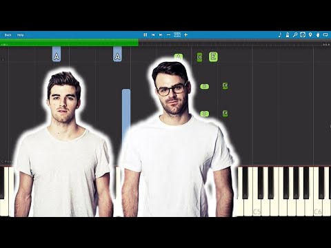 The Chainsmokers - Sick Boy - Piano Tutorial - PIANO PARTS ONLY - Instrumental