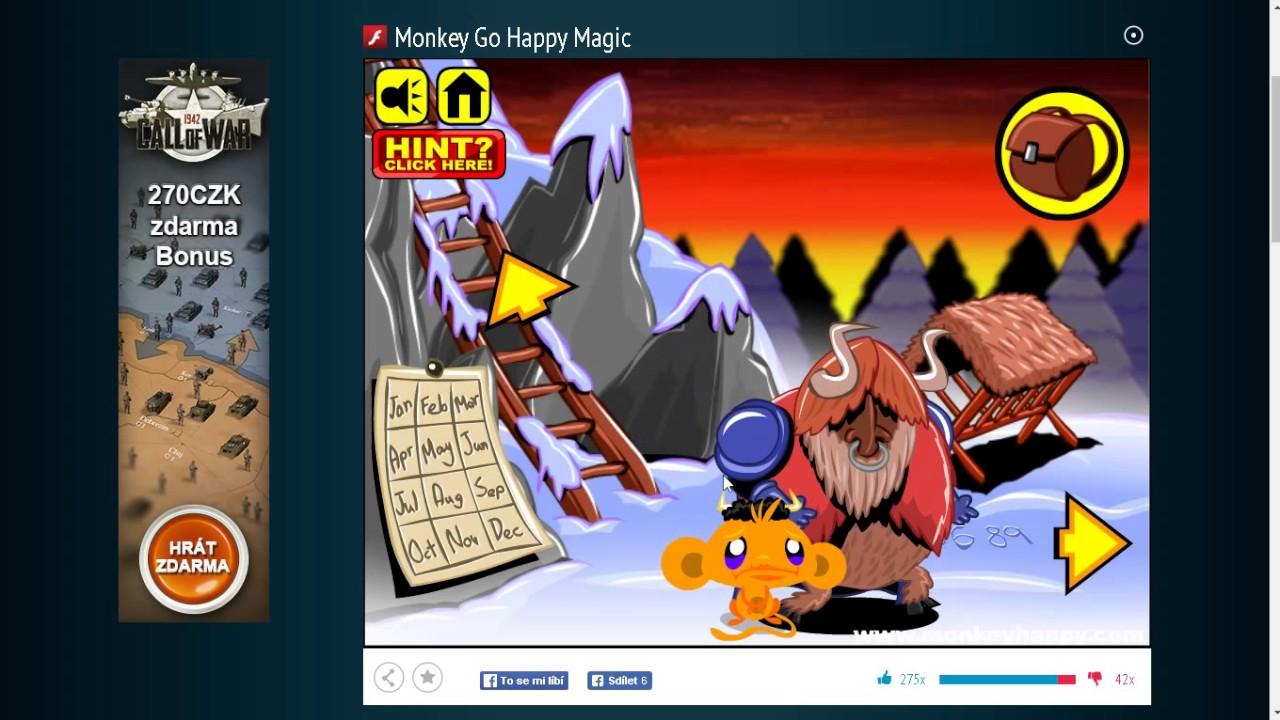 Monkey Go Happy: Magic