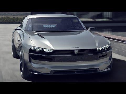 Peugeot e-Legend concept - 504 Coupe into the modern world