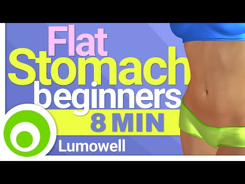 Flat Tummy Skinny Abs Workout – Minute At Home Fitness Routine For Beginners