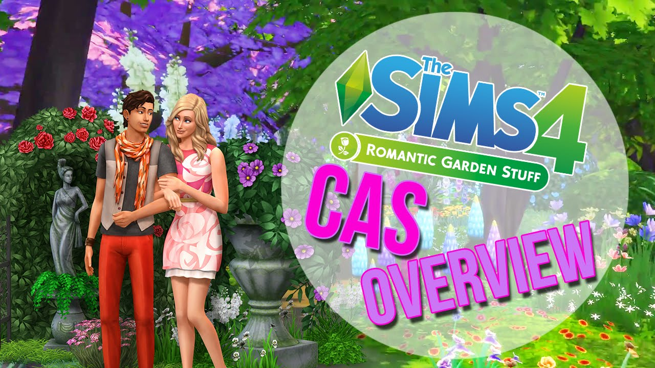 sims romantic garden stuff