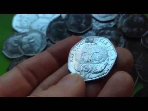 MRS. TIGGY WINKLE 50 pence coin