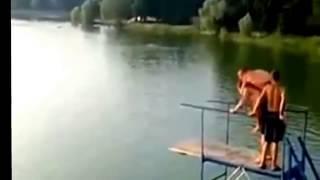 Видео приколы. Ржач.Русские приколы. Мужики на рыбалке и купании  ВОТ заглядение СМОТРИ
