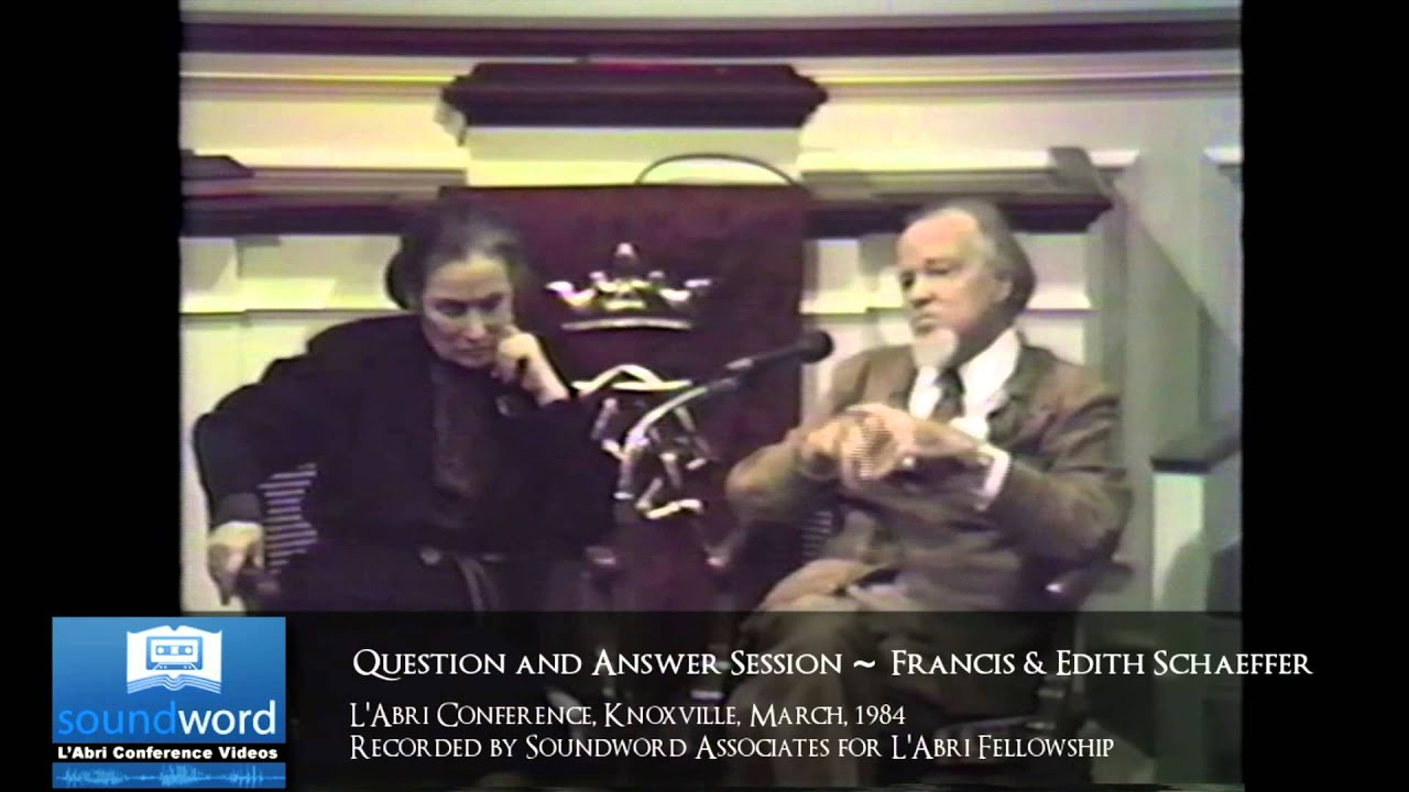 Download 1984 SOUNDWORD LABRI CONFERENCE VIDEO - Q&A With Francis & Edith Schaeffer