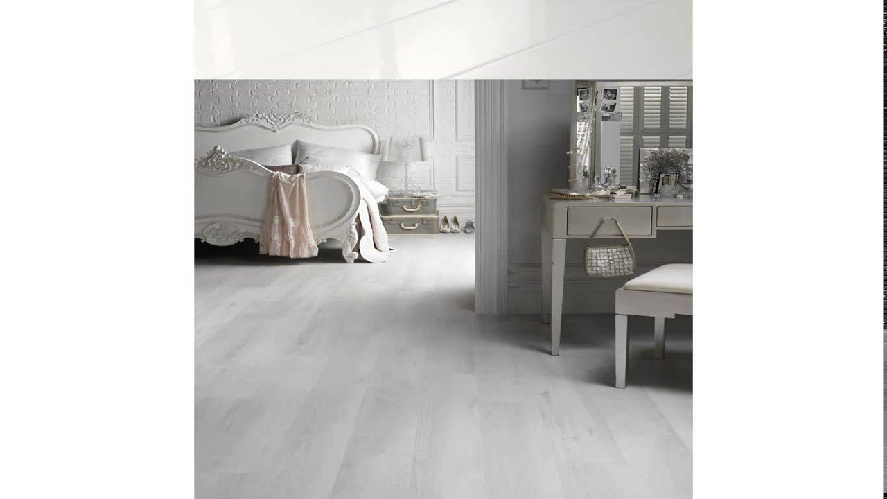 White Laminate Flooring Youtube