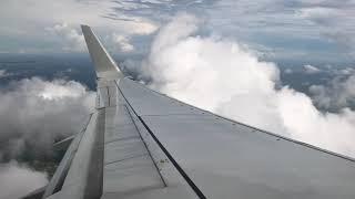 진에어 코타키나발루 국제공항 진에어 착륙