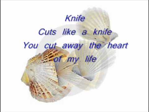 kNIFE  by rockwell  with lyrics