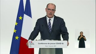 Covid-19: French PM says border with UK to remain shut, vows speedy approval of more vaccines