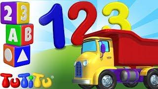 Camioneta - Números de aprendizaje para bebés y niños peq...