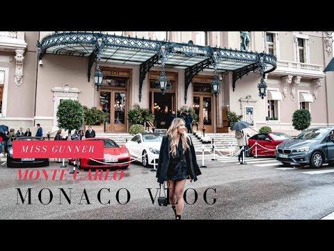 Monaco Vlog 2018 | Hotel Hermitage | Monte Carlo Casino | Miss Gunner | Ashley Schuberg