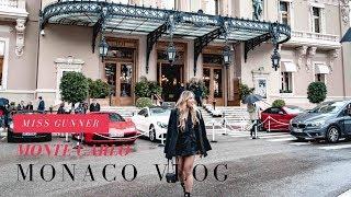 Zapętlaj Monaco Vlog 2018 | Hotel Hermitage | Monte Carlo Casino | Miss Gunner | Ashley Schuberg | Miss Gunner
