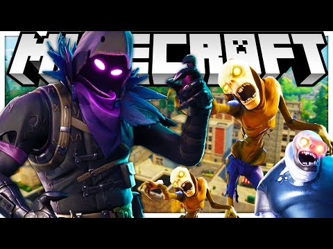 BRAND NEW INFECTION MODDED MINECRAFT HUNGER GAMES ON FORTNITE! - MINECRAFT MOD CHALLENGE