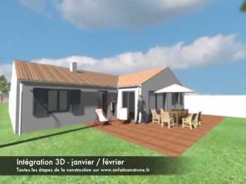 La visite virtuelle 3d de l 39 ext rieur de notre maison avec for Exterieur de maison